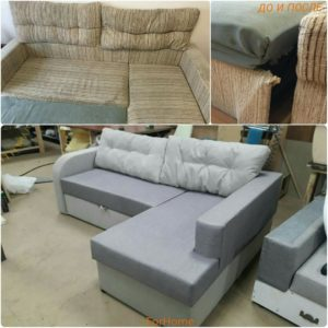 Перетяжка дивана киев (10)