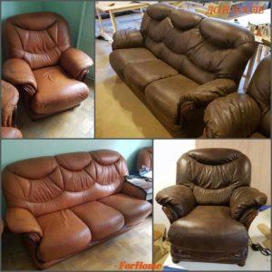 Перетяжка дивана киев (102)