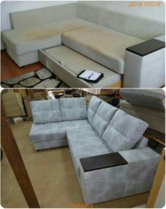 Перетяжка дивана киев (11)