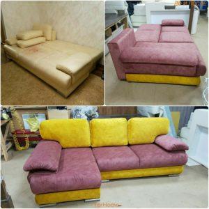 Перетяжка дивана киев (16)