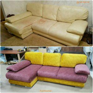Перетяжка дивана киев (17)