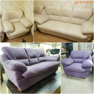 Перетяжка дивана киев (2)