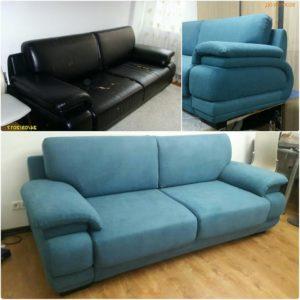 Перетяжка дивана киев (28)