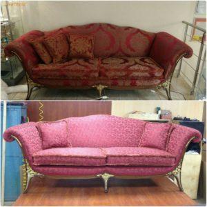 Перетяжка дивана киев (29)