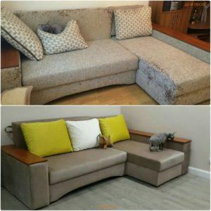 Перетяжка дивана киев (32)
