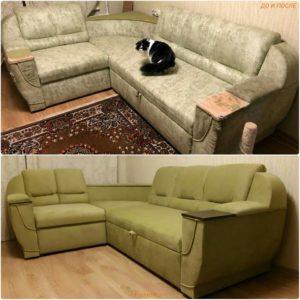 Перетяжка дивана киев (37)
