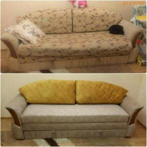 Перетяжка дивана киев (45)