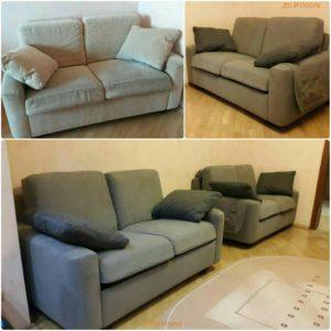 Перетяжка дивана киев (46)