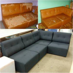 Перетяжка дивана киев (48)