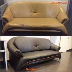 Перетяжка дивана киев (52)