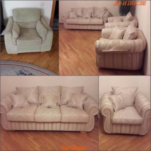 Перетяжка дивана киев (56)