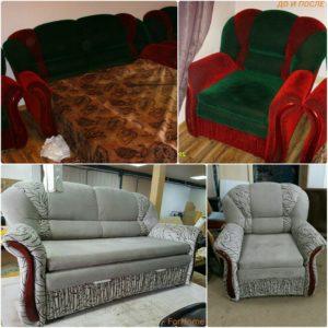 Перетяжка дивана киев (63)
