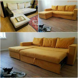 Перетяжка дивана киев (70)