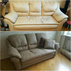 Перетяжка дивана киев (78)