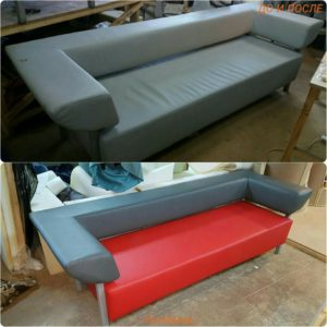 Перетяжка дивана киев (8)