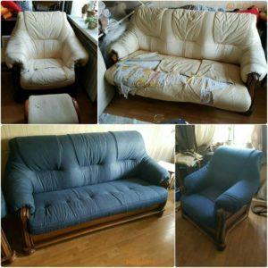 Перетяжка дивана киев (80)