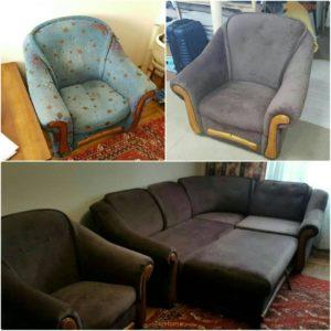 Перетяжка дивана киев (88)