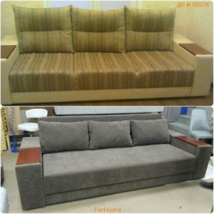 Перетяжка дивана киев (9)