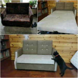 Перетяжка дивана киев (91)