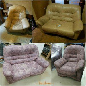 Перетяжка дивана,кресла киев