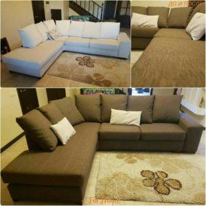 Перетяжка дивана киев 12