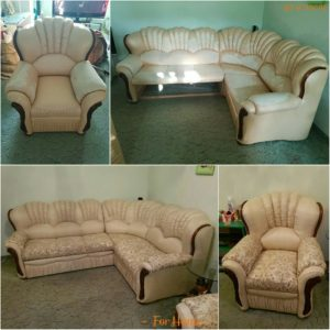 Перетяжка дивана киев 13