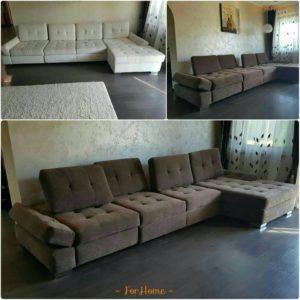 Перетяжка дивана киев