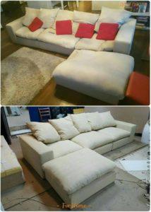 Перетяжка дивана киев 4