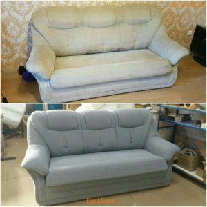 Перетяжка дивана киев 5