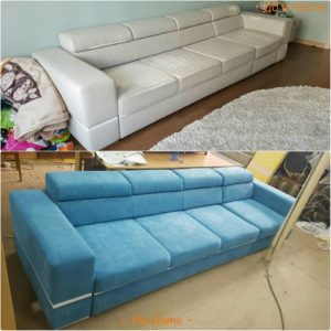 Перетяжка дивана киев 6
