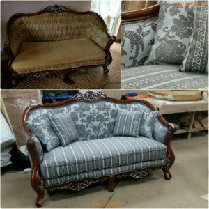 Перетяжка дивана киев 9