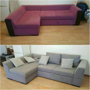 Перетяжка дивана 15